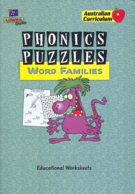 Phonics Puzzles: Word Families by Greg Porich