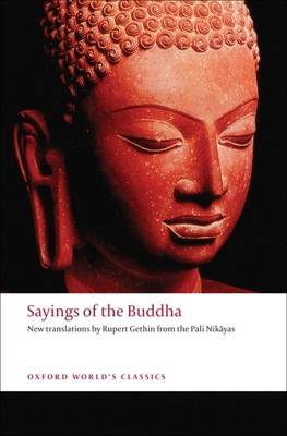 Sayings of the Buddha book
