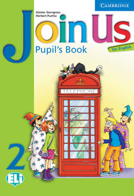 Join Us for English 2 Pupil's Book by Gunter Gerngross