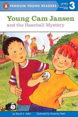 Young CAM Jansen and the Baseball Mystery by David A Adler