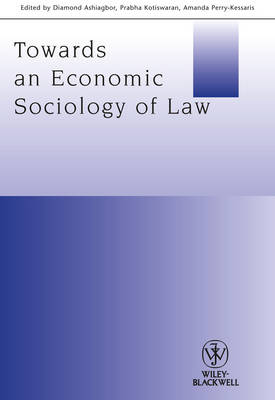 Towards an Economic Sociology of Law book