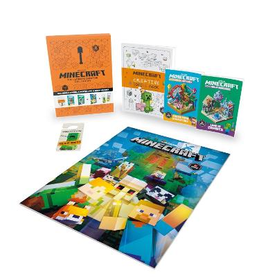 Minecraft The Ultimate Creative Collection Gift Box by Egmont Publishing UK