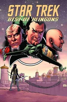 Star Trek Best Of Klingons book