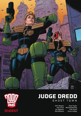 2000 AD Digest - Judge Dredd: Ghost Town by John Wagner