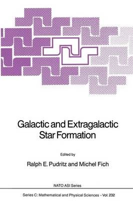 Galactic and Extragalactic Star Formation by Ralph E. Pudritz