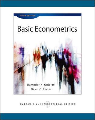 Basic Econometrics (Int'l Ed) by Damodar N Gujarati