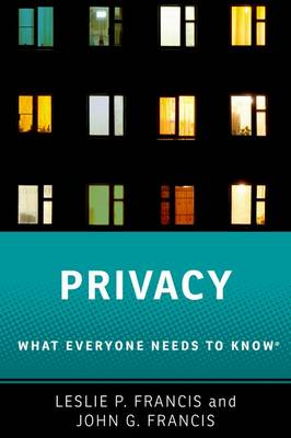 Privacy by Leslie P. Francis
