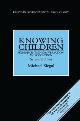 Knowing Children book