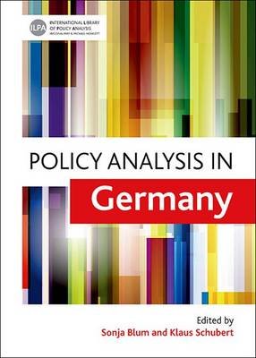 Policy analysis in Germany book