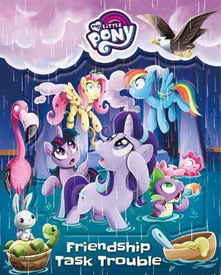 My Little Pony Friendship Task Trouble book