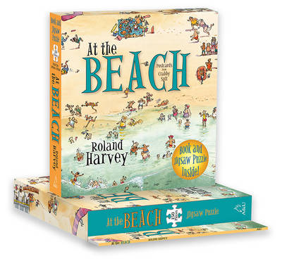 At the Beach Book and Jigsaw Puzzle book