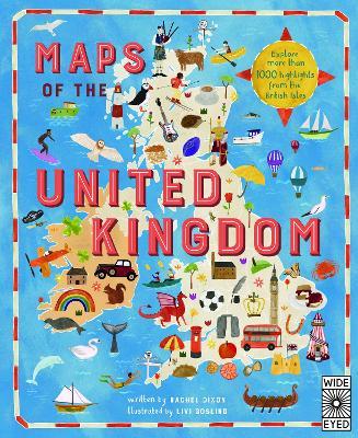 Maps of the United Kingdom by Rachel Dixon