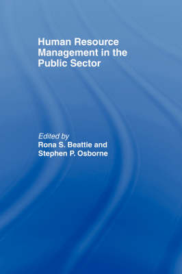 Human Resource Management in the Public Sector book