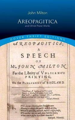 Areopagitica and Other Prose Works by John Milton