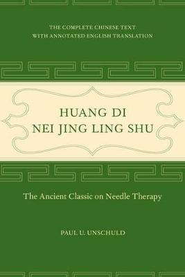Huang Di Nei Jing Ling Shu book