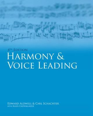 Workbook, Volume I for Aldwell/Cadwallader's Harmony and Voice Leading, 4th by Carl Schachter