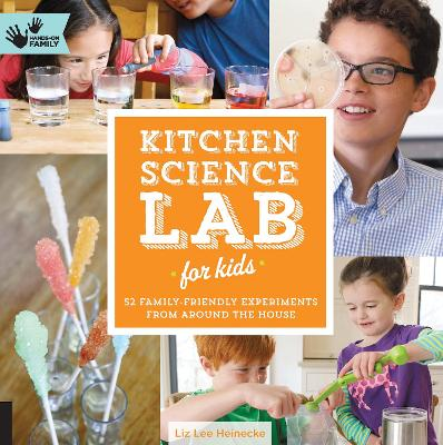 Kitchen Science Lab for Kids book