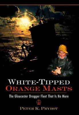 White-Tipped Orange Masts by Peter K Prybot