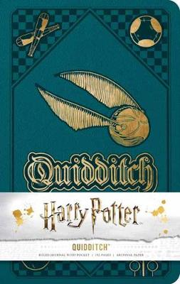 Harry Potter: Quidditch Hardcover Ruled Journal by Insight Editions