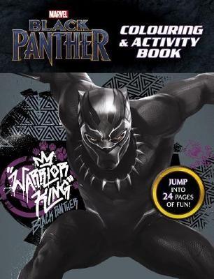 Marvel Black Panther: Colouring and Activity Book by
