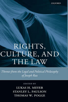 Rights, Culture and the Law book