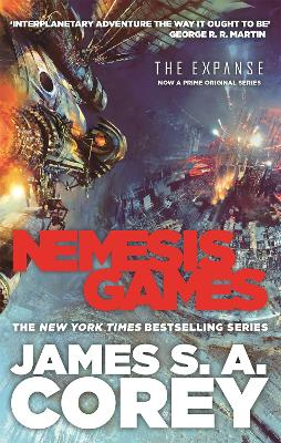 Nemesis Games book