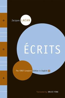 Ecrits by Jacques Lacan