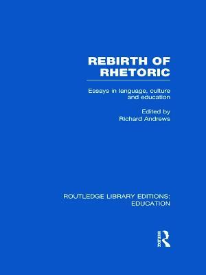 Rebirth of Rhetoric book