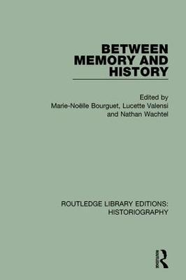 Between Memory and History book