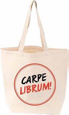 Carpe Librum! TOTE FIRM SALE by Gibbs Smith Publisher