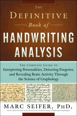 Definitive Book of Handwriting Analysis book