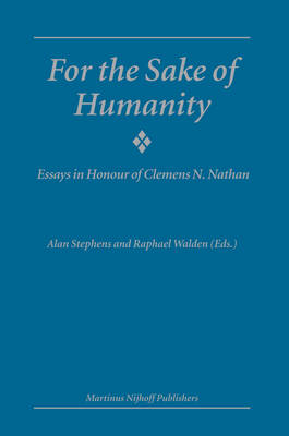 For the Sake of Humanity book
