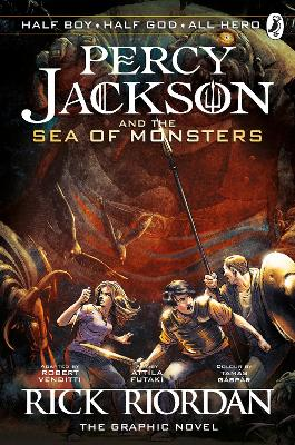 Percy Jackson and the Sea of Monsters: The Graphic Novel (Book 2) book