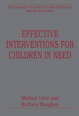 Effective Interventions for Children in Need book