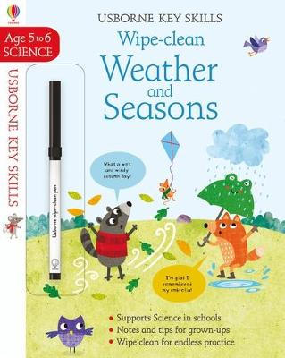 Wipe-Clean Weather and Seasons 5-6 by Holly Bathie
