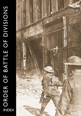 Order of Battle of Divisions, Index by Ray Westlake