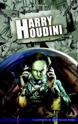 Harry Houdini by Cel Welsh
