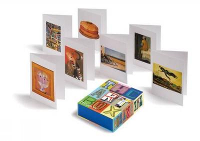 The Art Box Greeting Cards (Blue Selection) by Phaidon