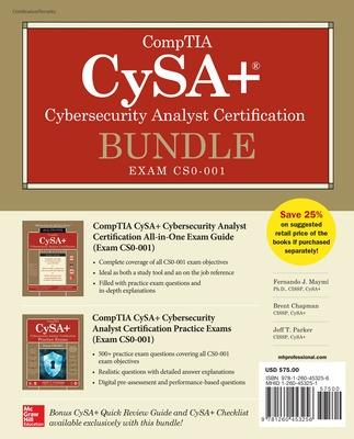 CompTIA CySA+ Cybersecurity Analyst Certification Bundle (Exam CS0-001) by Fernando Maymi