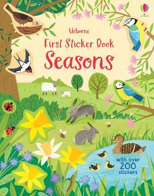 First Sticker Book Seasons book