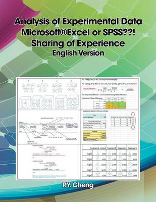Analysis of Experimental Data Microsoft(r)Excel or SPSS ! Sharing of Experience English Version by Ping Yuen Py Cheng