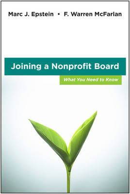 Joining a Nonprofit Board book