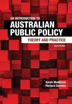 An Introduction to Australian Public Policy by Sarah Maddison