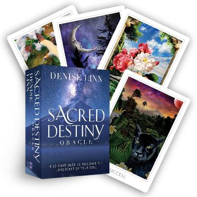 Sacred Destiny Oracle: A 52-Card Deck to Discover the Landscape of Your Soul by Denise Linn