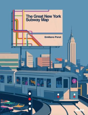 The Great New York Subway Map by Emiliano Ponzi