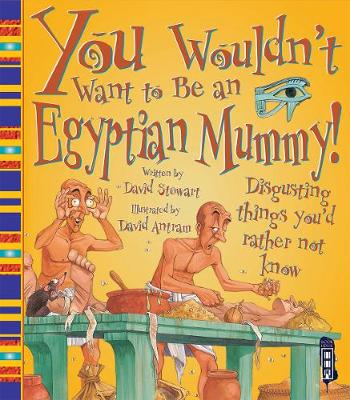 You Wouldn't Want To Be An Egyptian Mummy! book