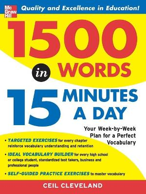 1500 Words in 15 Minutes a Day by Ceil Cleveland