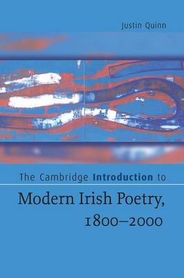 Cambridge Introduction to Modern Irish Poetry, 1800-2000 book