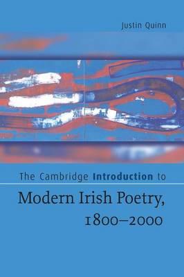 Cambridge Introduction to Modern Irish Poetry, 1800-2000 book