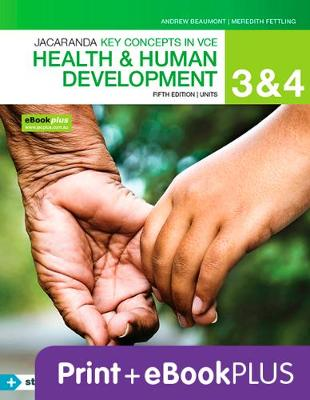 Key Concepts VCE Health and Human Development Units 3&4 5E Ebk & Print+s/On by Andrew Beaumont